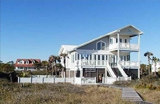 Oceanfront w/pool, 22 steps to the Beach - Last min Rez 25% off Dec, book direct, holiday rental in Apalachicola
