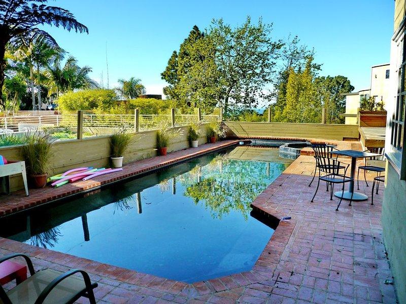 Del Mar Artistic Vision, Ocean Views, Private Pool & Spa, vacation rental in Del Mar