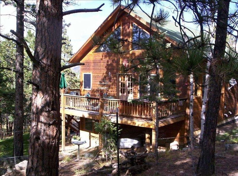 Spectacular Colorado Mtn Home-Enjoy Mtn Views & Serenity, holiday rental in Bailey