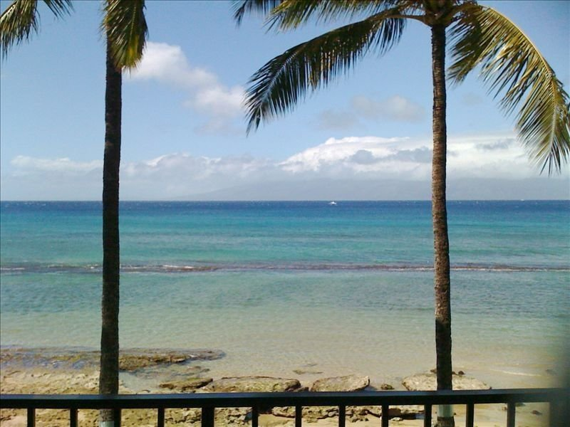 Direct Ocean Front! 40' from Water. Unobstructed ocean view., vacation rental in Lahaina