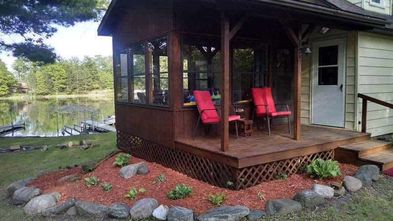 NEWLY REMODELED!  Getaway on Balsam Lake, WI, vacation rental in Luck