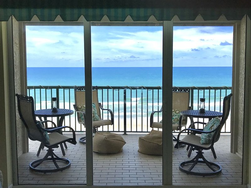 NEW LISTING!!  Luxury 3BR, 3BA, Oceanfront unit in  Dimucci's Tower 9, vacation rental in Ponce Inlet
