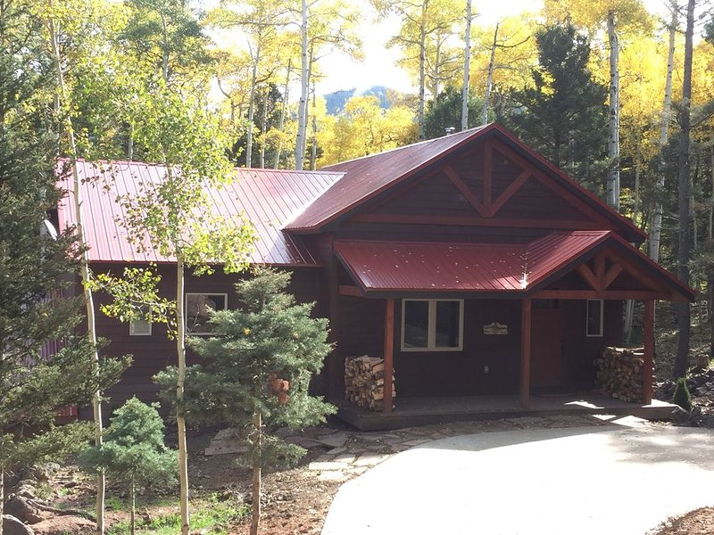 Ski-in, Ski-out Cabin, Beautiful Mountain Retreat on the Heading Home Ski Run, holiday rental in Angel Fire