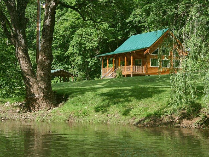 The Bear Foot Cabin at Walker Creek Retreat, location de vacances à Radford