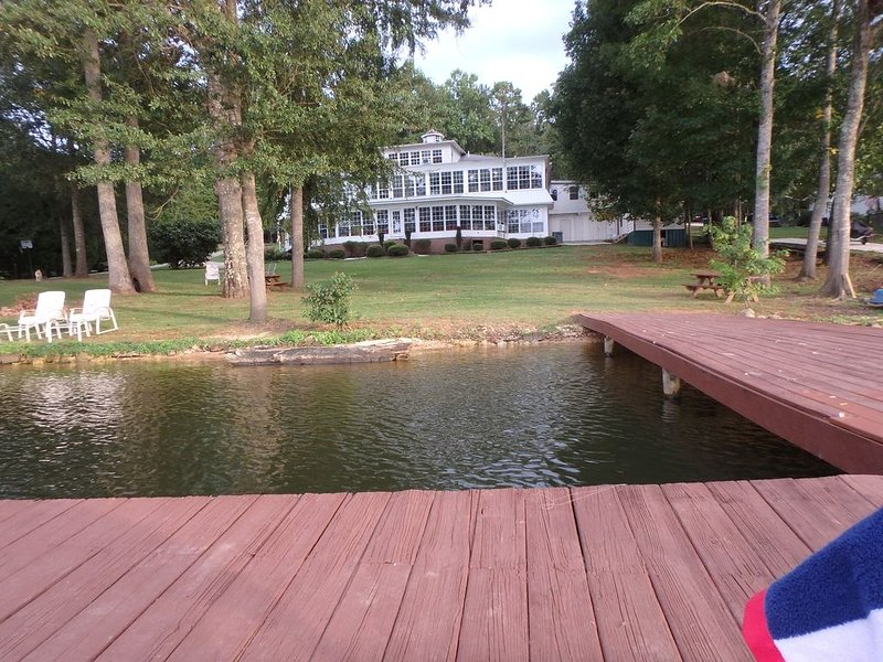 View of house from private dock