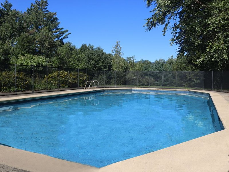 Large in-ground pool - perfect for those warm summer days!