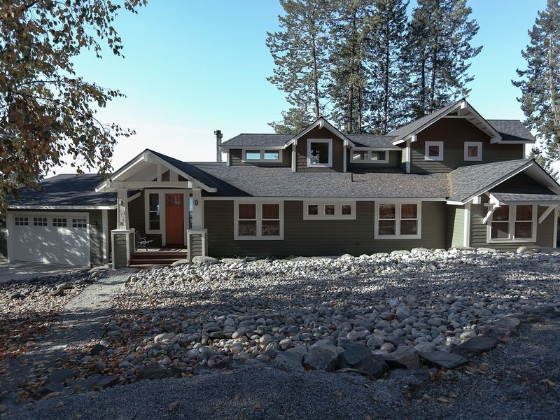 BEAUTIFUL SANDPOINT/HOPE LAKE HOME, vacation rental in Hope