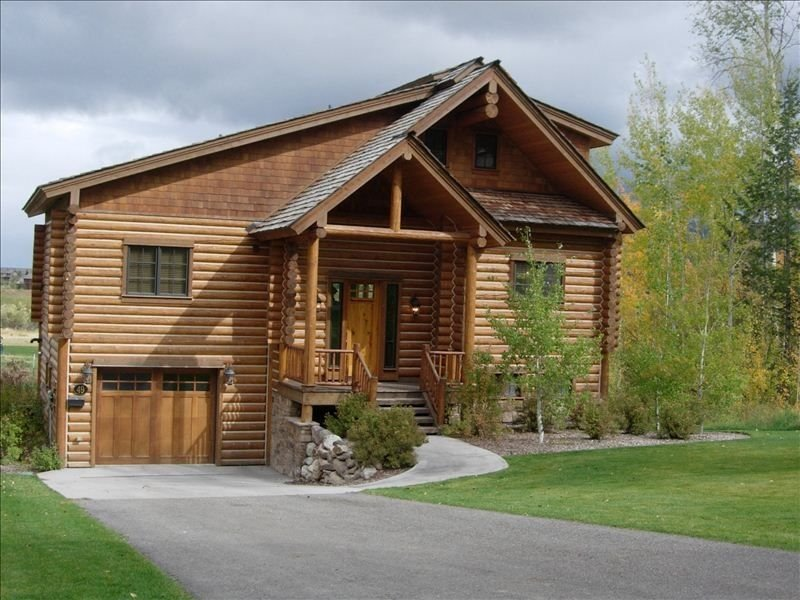 Teton Springs Cabin Backing up to Targhee National Forest, holiday rental in Swan Valley