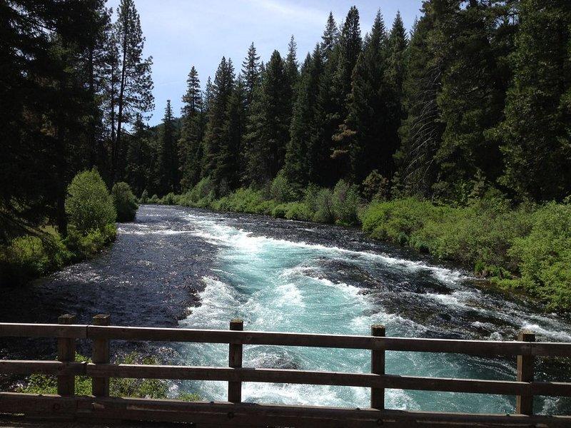 Metolius River.