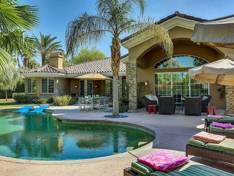 Indulgent Escape Luxury home great for groups, families and friends!, alquiler de vacaciones en Rancho Mirage