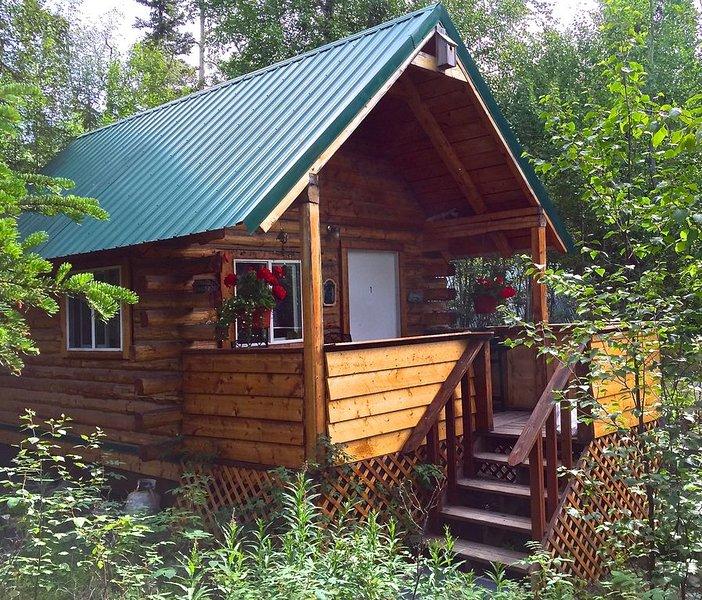 Cabin #1 Cooper Landing Fish Camp - Upper Kenai River Cabin Rental, alquiler vacacional en Moose Pass