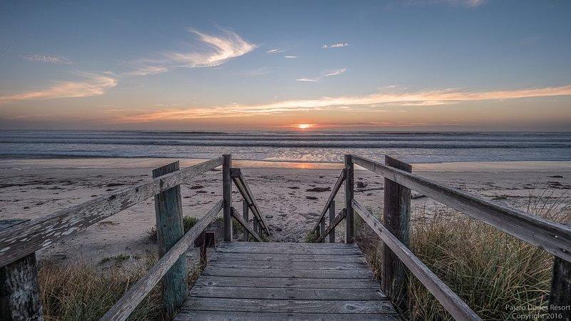 ¡Escaleras a la playa!