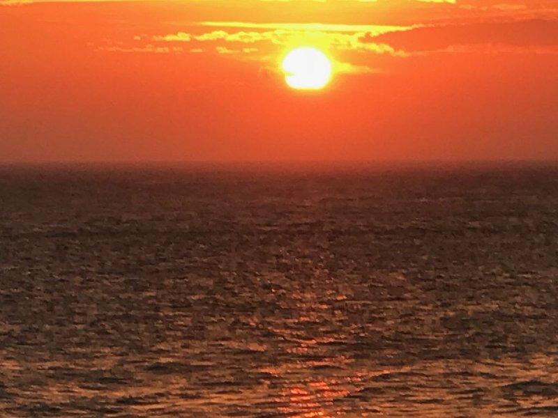 De retour à Pelican, vous pouvez profiter des couchers de soleil spectaculaires depuis votre propre terrasse privée.
