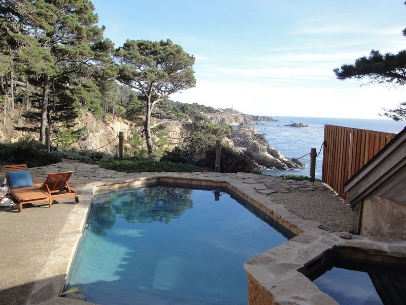Cove House, Dramatic Oceanfront with Swimming Pool on the  Wild Sonoma Coast, location de vacances à Jenner