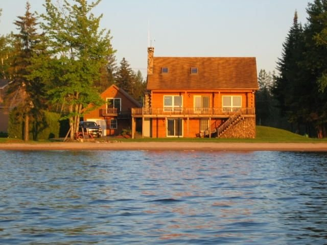 View of house from the lake