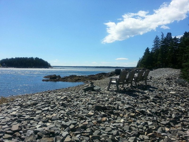 Shorefront Cottage in Northeast Harbor Maine, holiday rental in Acadia National Park
