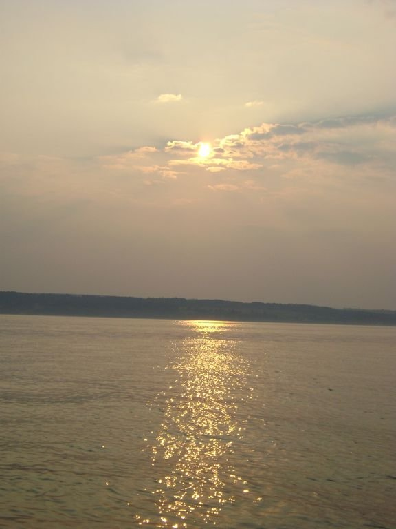 Sunrise over Seneca Lake-another wonderful day of fun in the Finger Lakes.