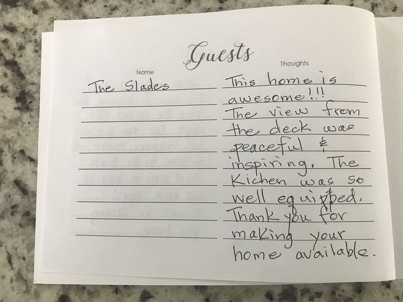 Reviews from the Guestbook