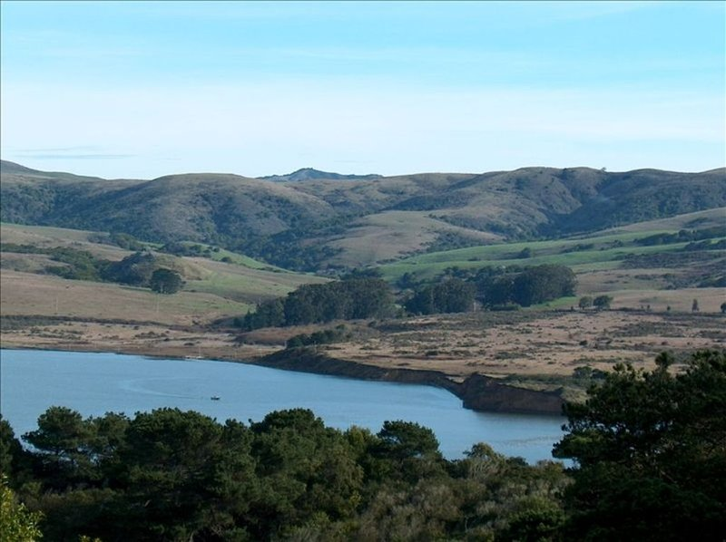 View of Tomales Bay from the house
