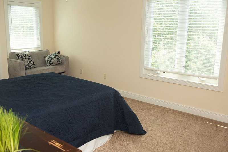 King Chair in Bedroom #3 open up to Twin Bed
