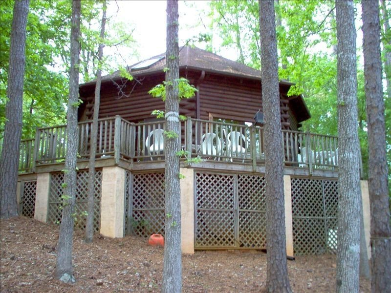 VIEW OF CABIN