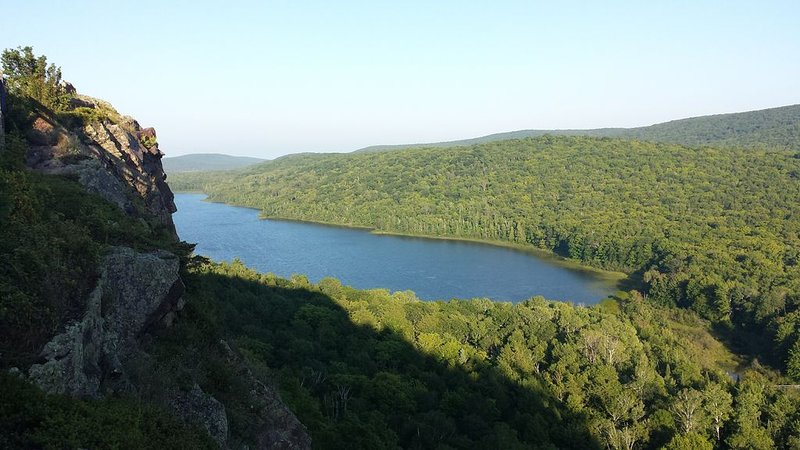 Porcupine Mts. Lake of the Clouds