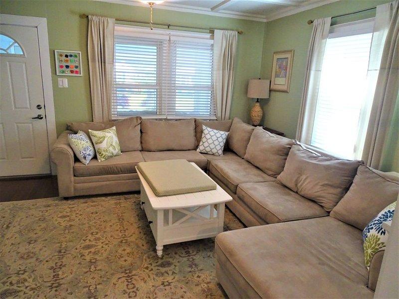 Living Room -Big Sectional Sofa