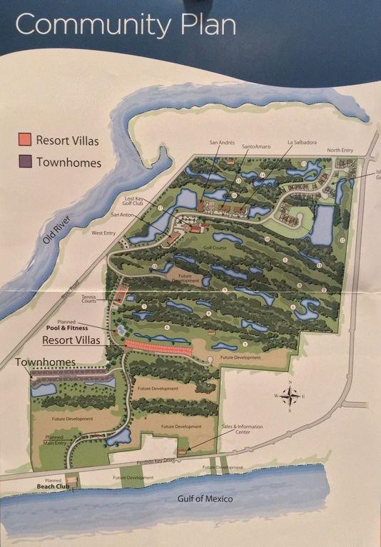 Mapa de Lost Key Beach and Golf Club