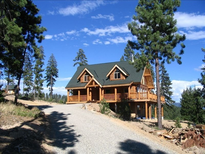 Jack Pine Lodge:  Beautiful New Log Home, casa vacanza a Cle Elum