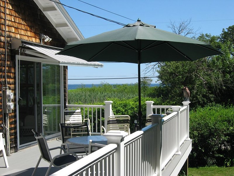 Side Deck with ocean view