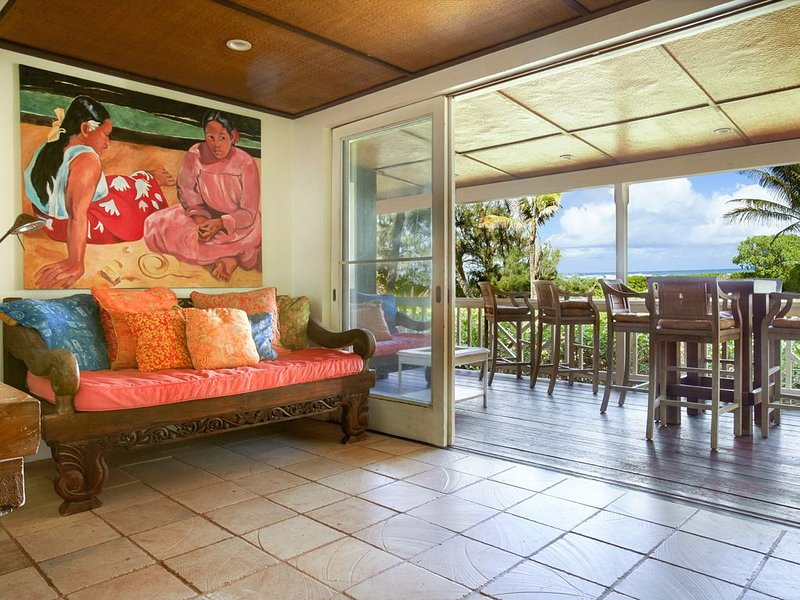 Mokuleia Beach House - Your Escape on the Beach!, aluguéis de temporada em Waialua