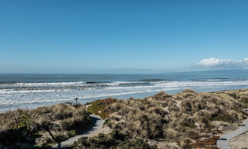 Vista a la playa - a pocos pasos