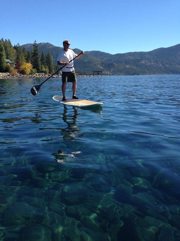 ¡La mejor manera de ver el lago!