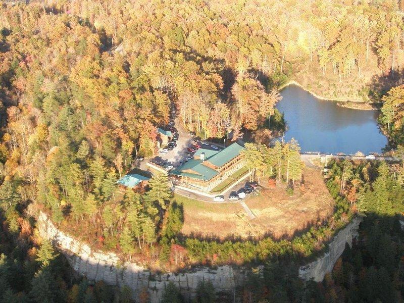 Aeriel View of Lodge