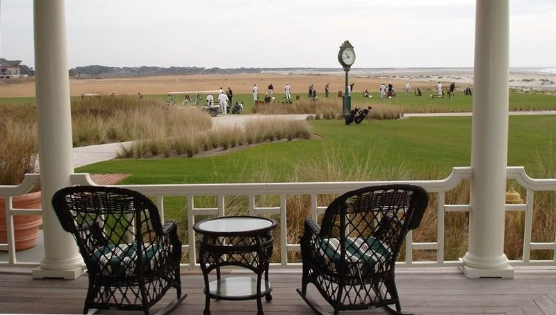 Enjoy the famous Ocean Course clubhouse for lunch, dinner or golf