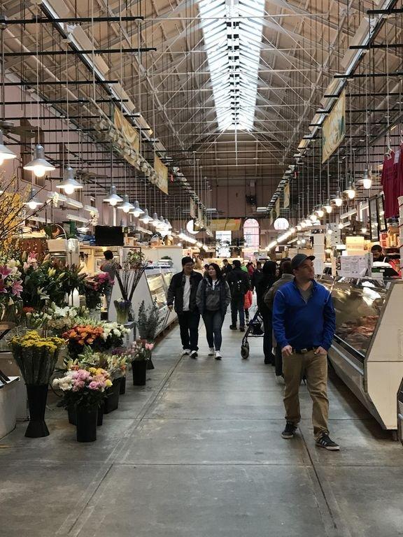 Dentro del mercado oriental