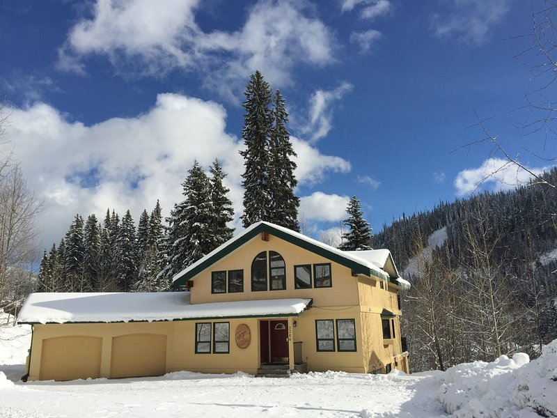 Sleepy Hollows Chalet Down (at Sun Peaks Resort) – semesterbostad i Sun Peaks