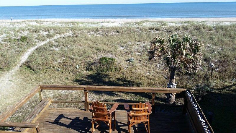 Amelia Island ocean front, fantastic views, holiday rental in Fernandina Beach