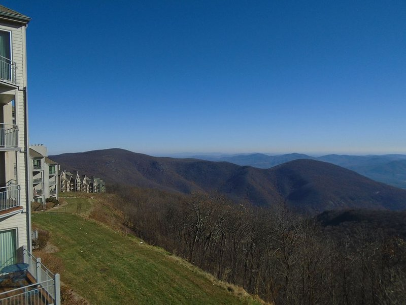 Heavenly view from the top of the Mountain.  Pet Friendly. Come relax!, location de vacances à Wintergreen