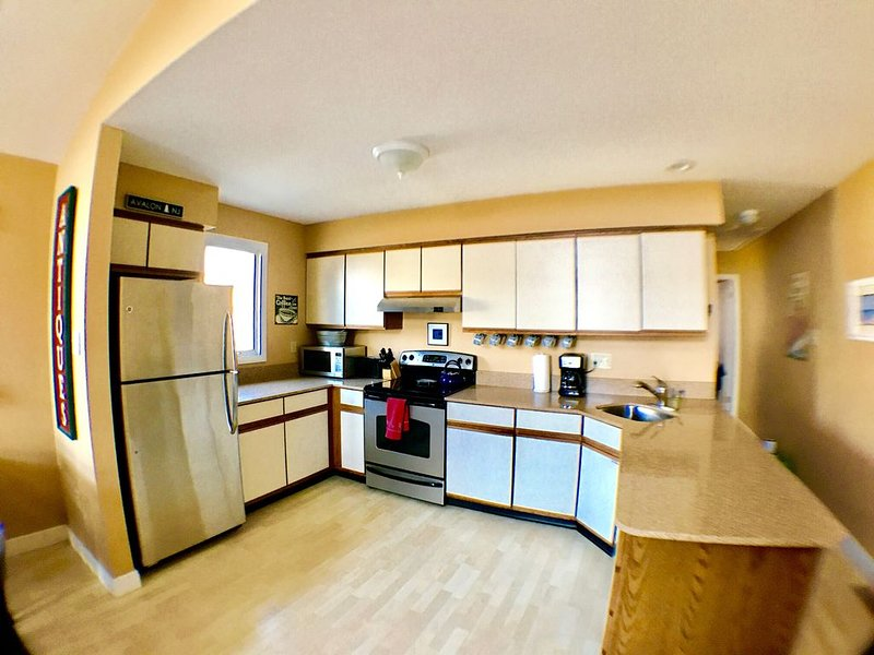 Kitchen with all of the amenities.
