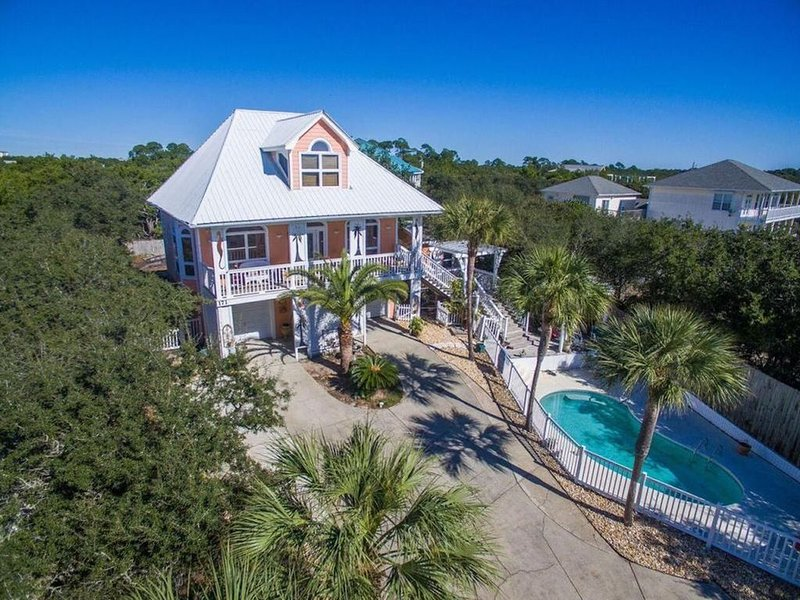 180 degree Gulf View - Private Home & Pool - Easy Beach Access, 3 King Bedrooms, location de vacances à Inlet Beach