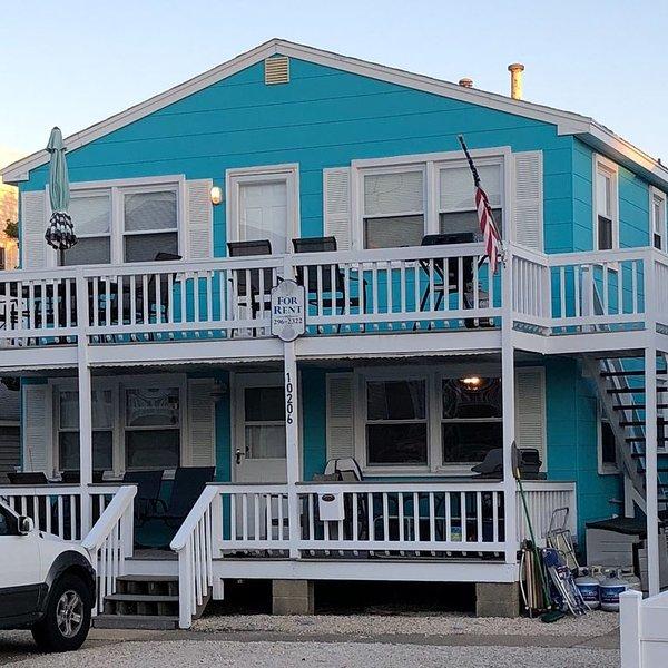 Oceanside Duplex-7 Homes to Beach (2nd FL) Weekly Rental, location de vacances à Long Beach Island