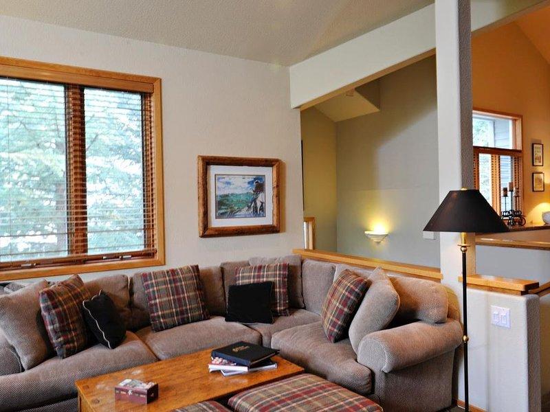 Comfortabele zitplaatsen in de woonkamer