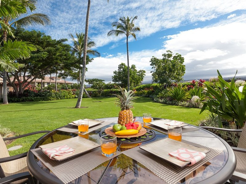 Tropical Heaven - Poolside & Views! Exclusive Hilton Pool Pass for 2021!, vacation rental in Waikoloa