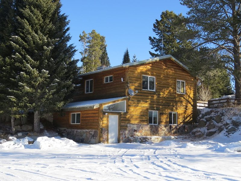 The Brook Trout Mountain Home has a large parking area for cars, rv's and toys!