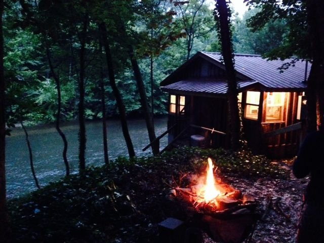 Exterior By The Fire...