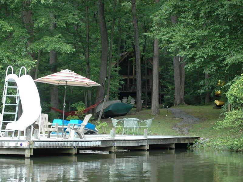 Dock on the lake.