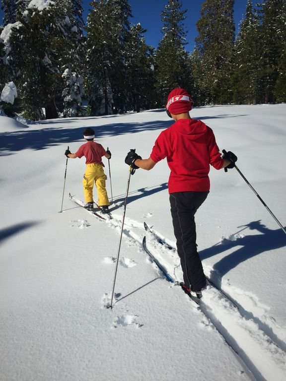 Attraction locale: Ski de fond à plusieurs endroits (location de skis à Bear)