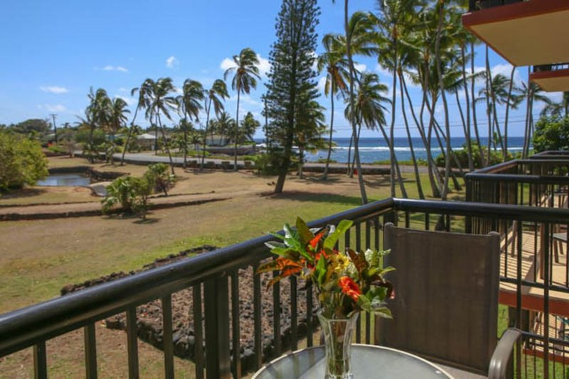 Ocean View - Steps to Beach - Perfect for couples, vacation rental in Kalaheo