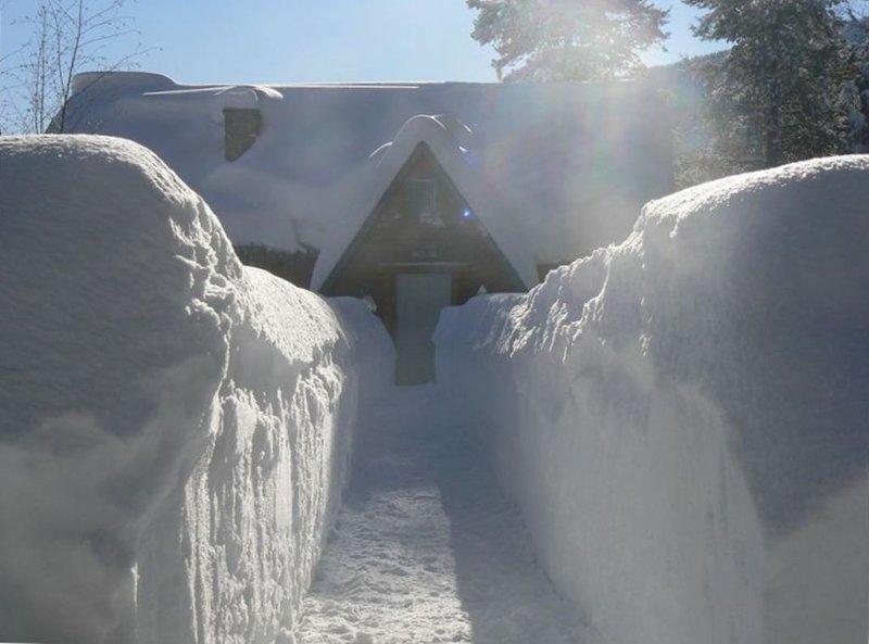 My winter wonderland 'Teakettle Mountain Ranch'